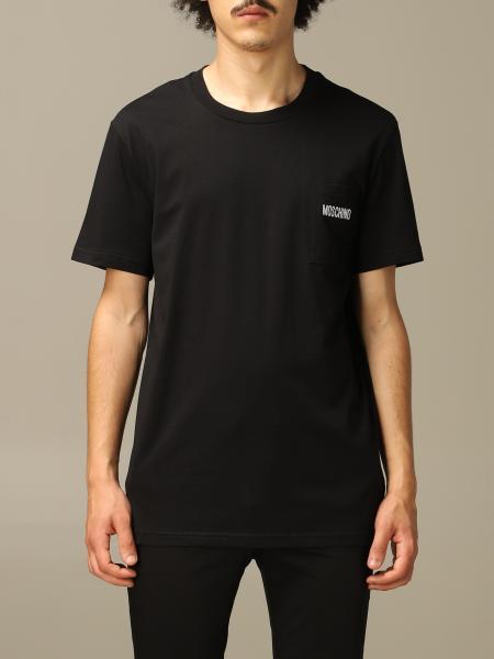 T-shirt Moschino Couture a girocollo con logo