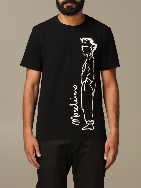 Moschino Couture T-shirt with Moschino Character logo