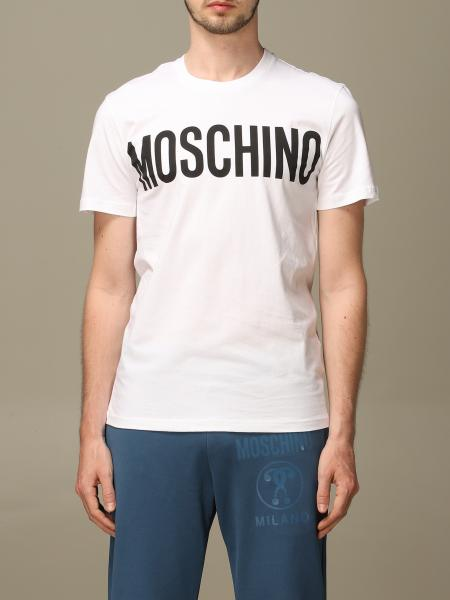 Moschino Couture crew neck t-shirt with logo