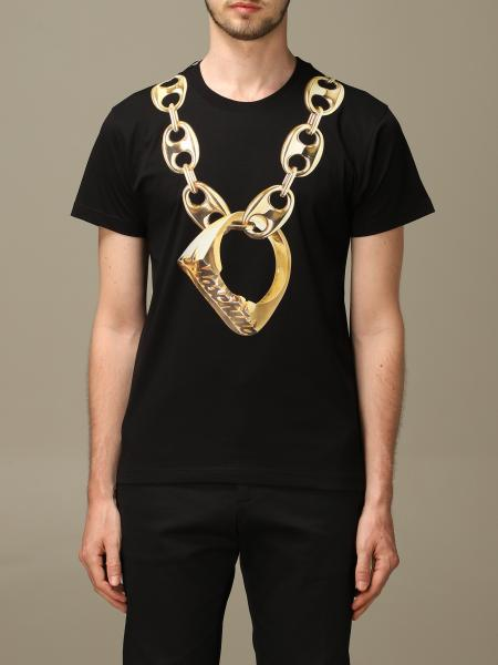 T-shirt Moschino Couture a girocollo con stampa Macro Ring