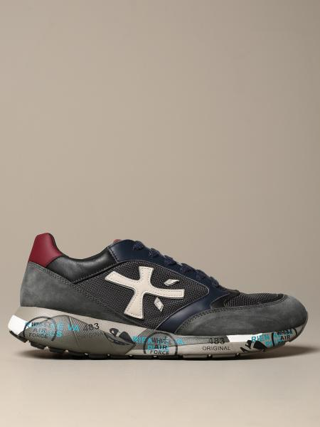 Zac-zac Premiata sneakers in leather and micro mesh