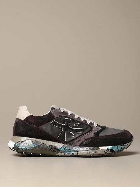 Sneakers Zac-zac Premiata in camoscio e nylon