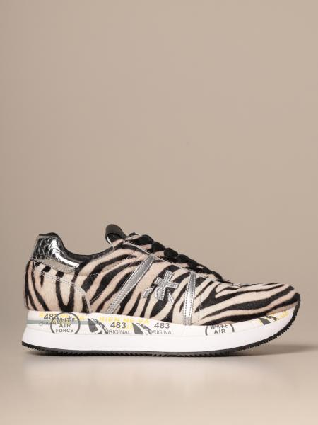 Conny Premiata sneakers in zebra pony