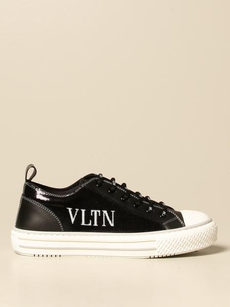 Valentino Garavani Giggies sneakers in leather and sequins