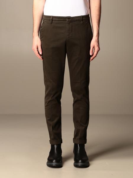 Gaubert chino Dondup trousers in stretch gabardine bottom 17
