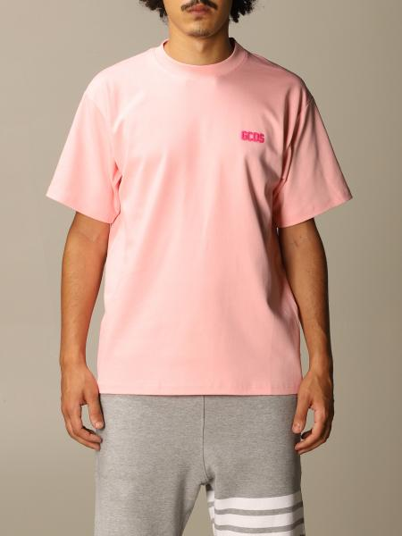 Gcds men: GCDS cotton t-shirt with basic logo