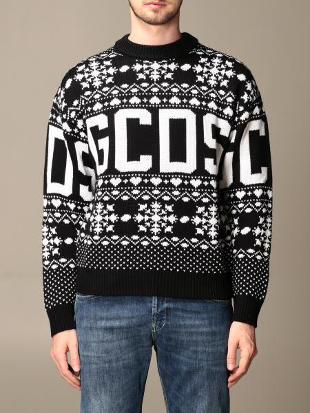 Gcds men: GCDS pullover in wool blend with christmas logo