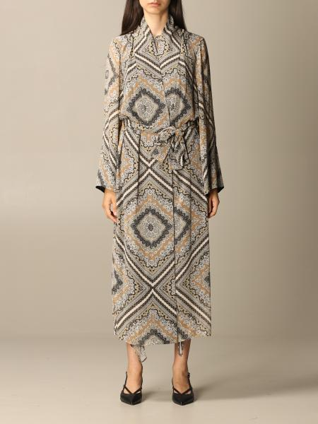Michael Kors women: Long Michael Michael Kors patterned dressing gown
