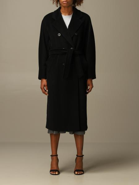 Madame Max Mara coat in virgin wool and cashmere