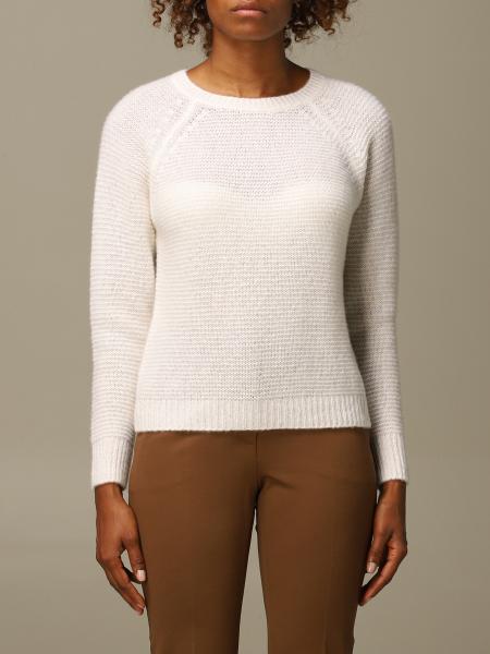 Max Mara women: Max Mara Satrapo pullover in goat cashmere