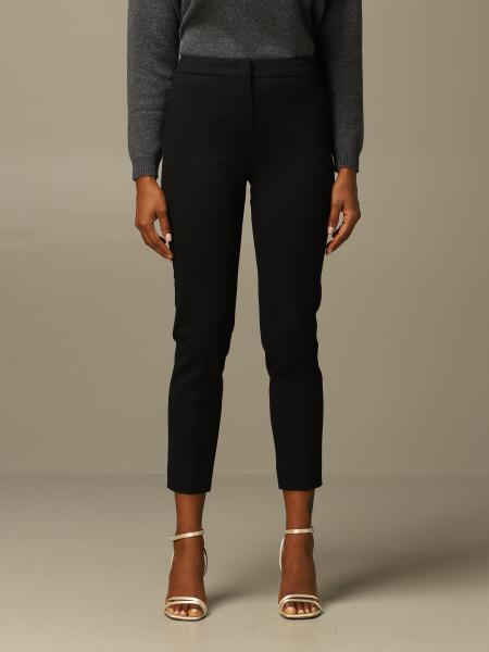 Pegno Max Mara trousers in slim fit cotton jersey
