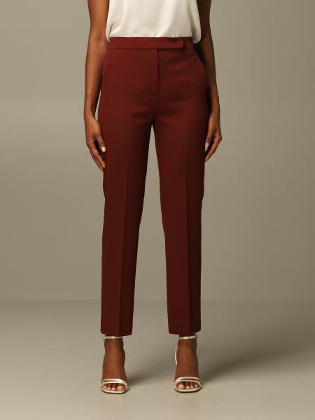 Max Mara women: Max Mara trousers in virgin wool