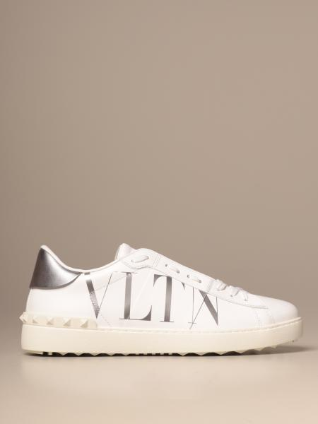 Valentino Garavani Open sneakers in leather with VLTN logo