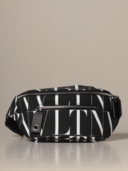 Times Valentino Garavani nylon belt bag with all-over VLTN logo