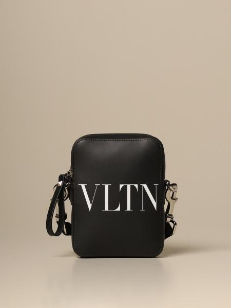 Valentino Garavani bag in leather with VLTN logo