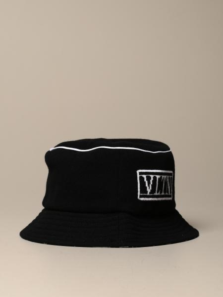 Reversible Valentino Garavani hat with VLTN logo