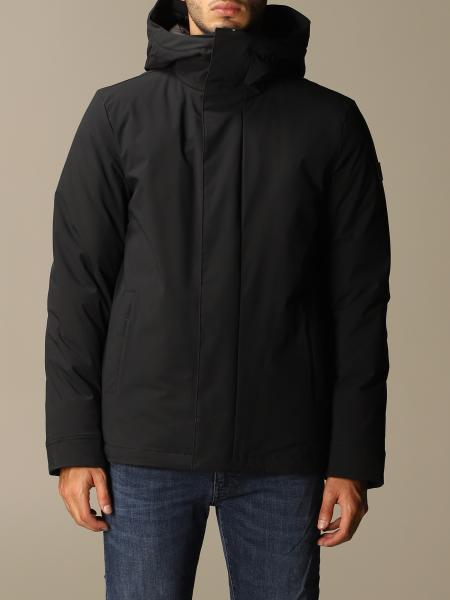 Woolrich men: Woolrich pacific stretch parka with hood