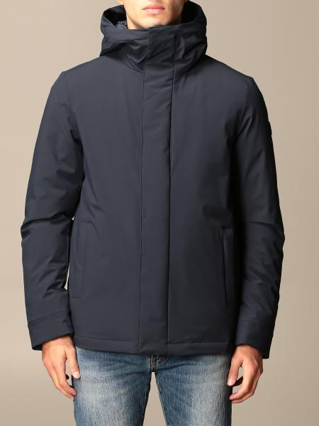 Woolrich pacific stretch parka with hood