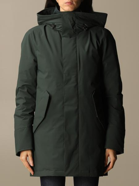 Woolrich: Woolrich Stretch mountain parka with hood