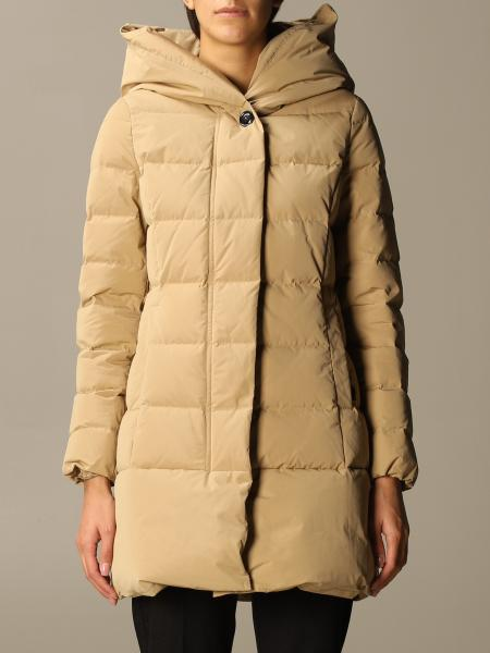 Woolrich: Puffy Prescot Woolrich down jacket with hood