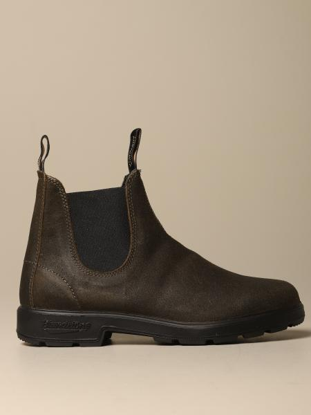 Blundstone ankle boot in leather-crust