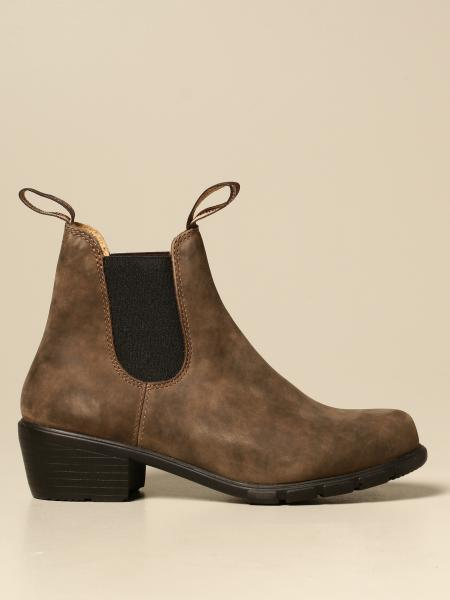 Blundstone: Blundstone ankle boot in suede with elastic bands