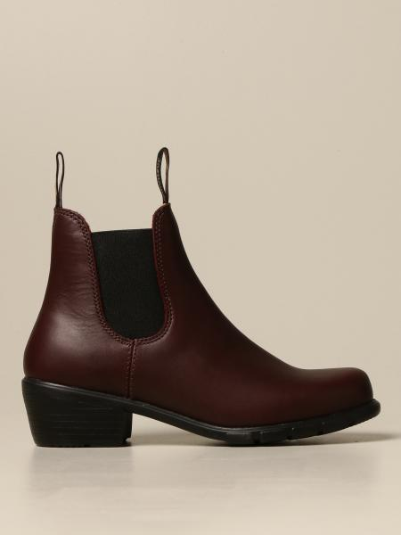 Blundstone: Blundstone leather ankle boot with elastic bands