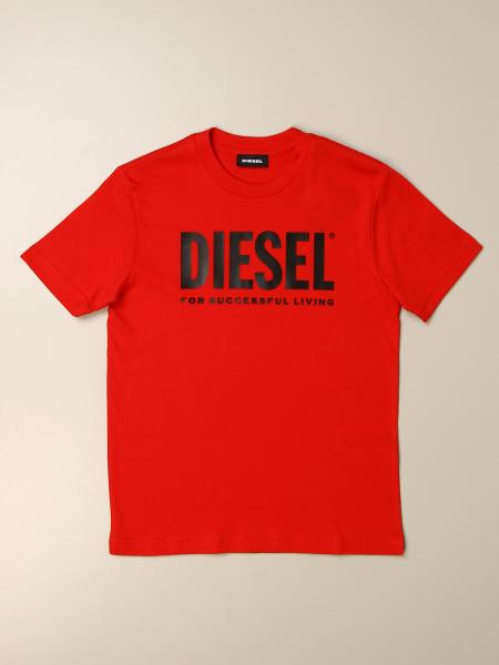 Diesel cotton t-shirt with print