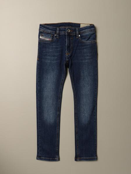 Jeans Sleenker Diesel skinny fit in denim used