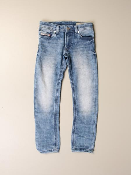 Diesel: Jeans Sleenker in denim used skinny stretch