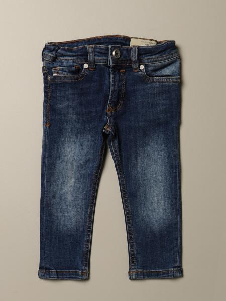 Sleenker Diesel jeans in used denim