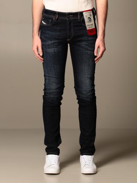 Jeans Sleenker x Diesel in denim stretch used skinny