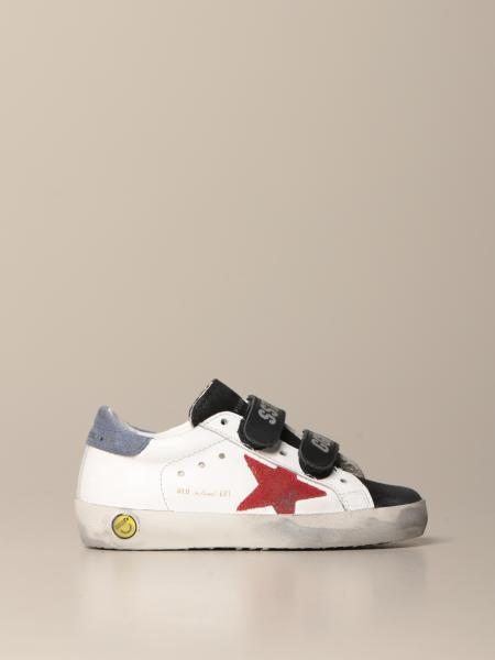 Old School Golden Goose sneakers in leather and suede