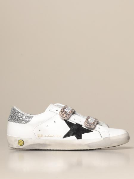 Golden Goose: Golden Goose Old School sneakers in leather