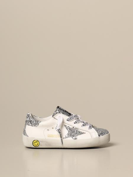 Superstar classic Golden Goose sneakers in leather and glitter