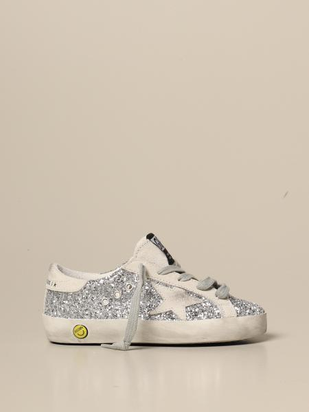 Superstar classic Golden Goose glitter sneakers