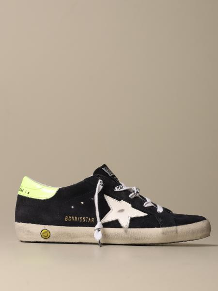 Golden Goose bambino: Sneakers Superstar classic Golden Goose in camoscio