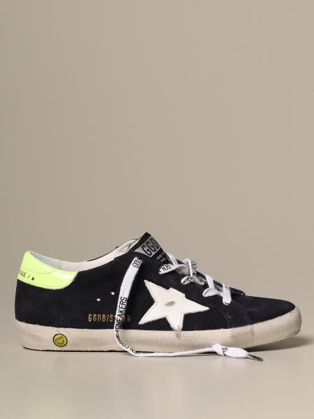Sneakers Superstar classic Golden Goose in camoscio