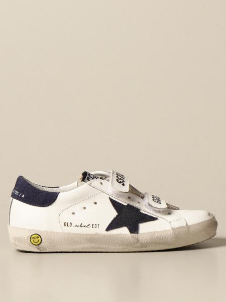 Golden Goose: Old School Golden Goose sneakers in leather
