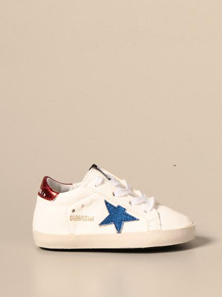 Golden Goose bambino: Sneakers Superstar Golden Goose in pelle