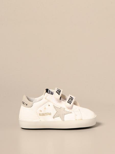 Golden Goose bambino: Sneakers Baby school Golden Goose in pelle e camoscio