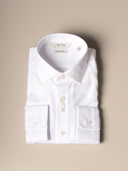 Z Zegna cotton Oxford shirt