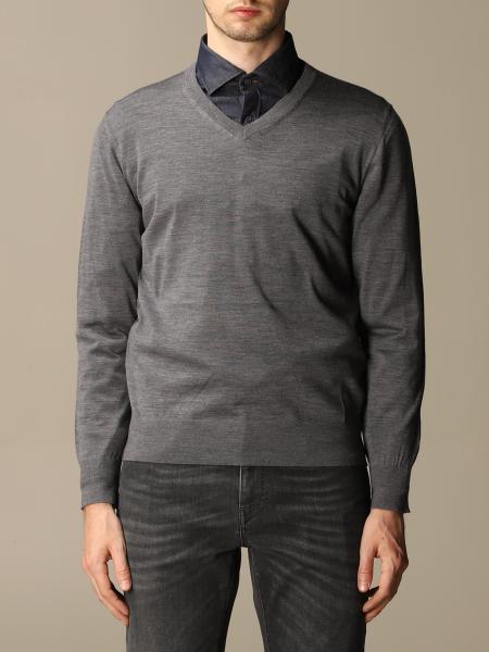 Z Zegna long-sleeved Merino wool sweater
