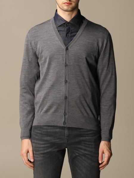 Z Zegna men: Z Zegna cardigan in pure Merinos wool with long sleeves