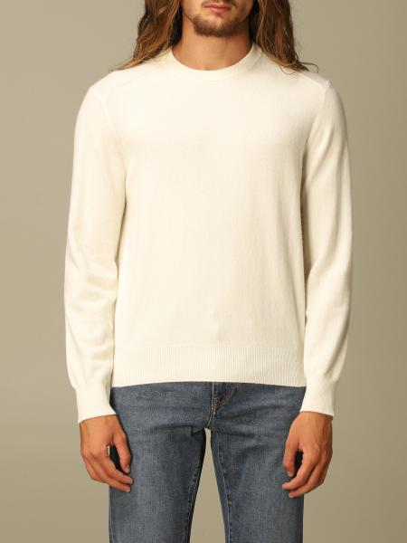 Z Zegna men: Z Zegna cashmere sweater with long sleeves