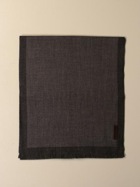 Ermenegildo Zegna scarf in bicolor wool