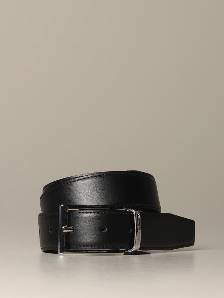 Ermenegildo Zegna belt in reversible leather