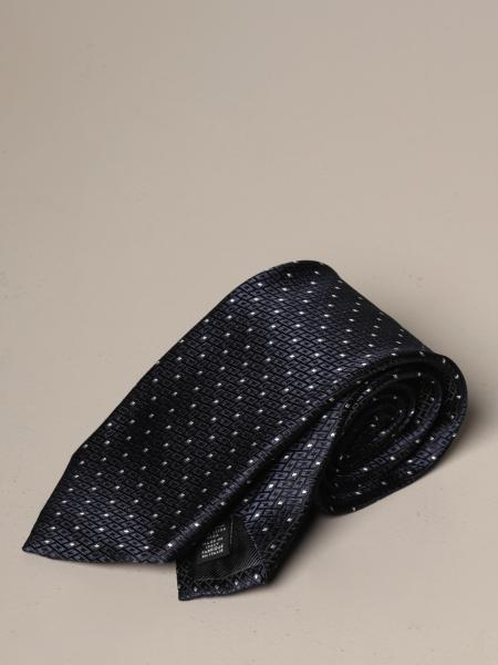 Ermenegildo Zegna tie in patterned silk