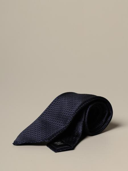 Ermenegildo Zegna tie in jacquard silk