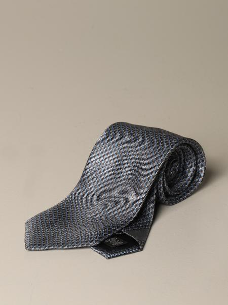Ermenegildo Zegna silk tie with pattern
